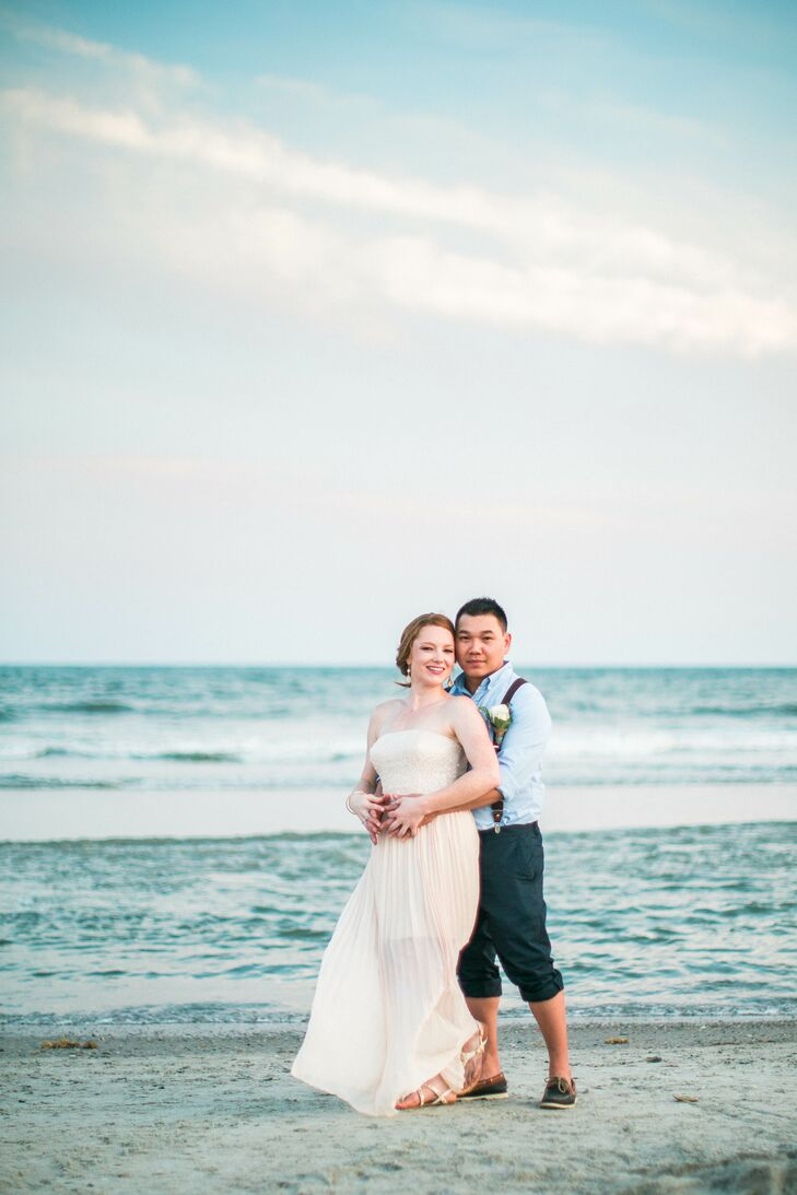 An Intimate Beach Wedding At Tides Folly In South Carolina