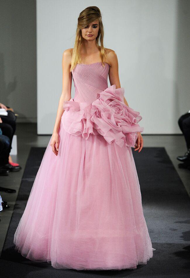 Vera Wang Fall 2014 Wedding Dresses