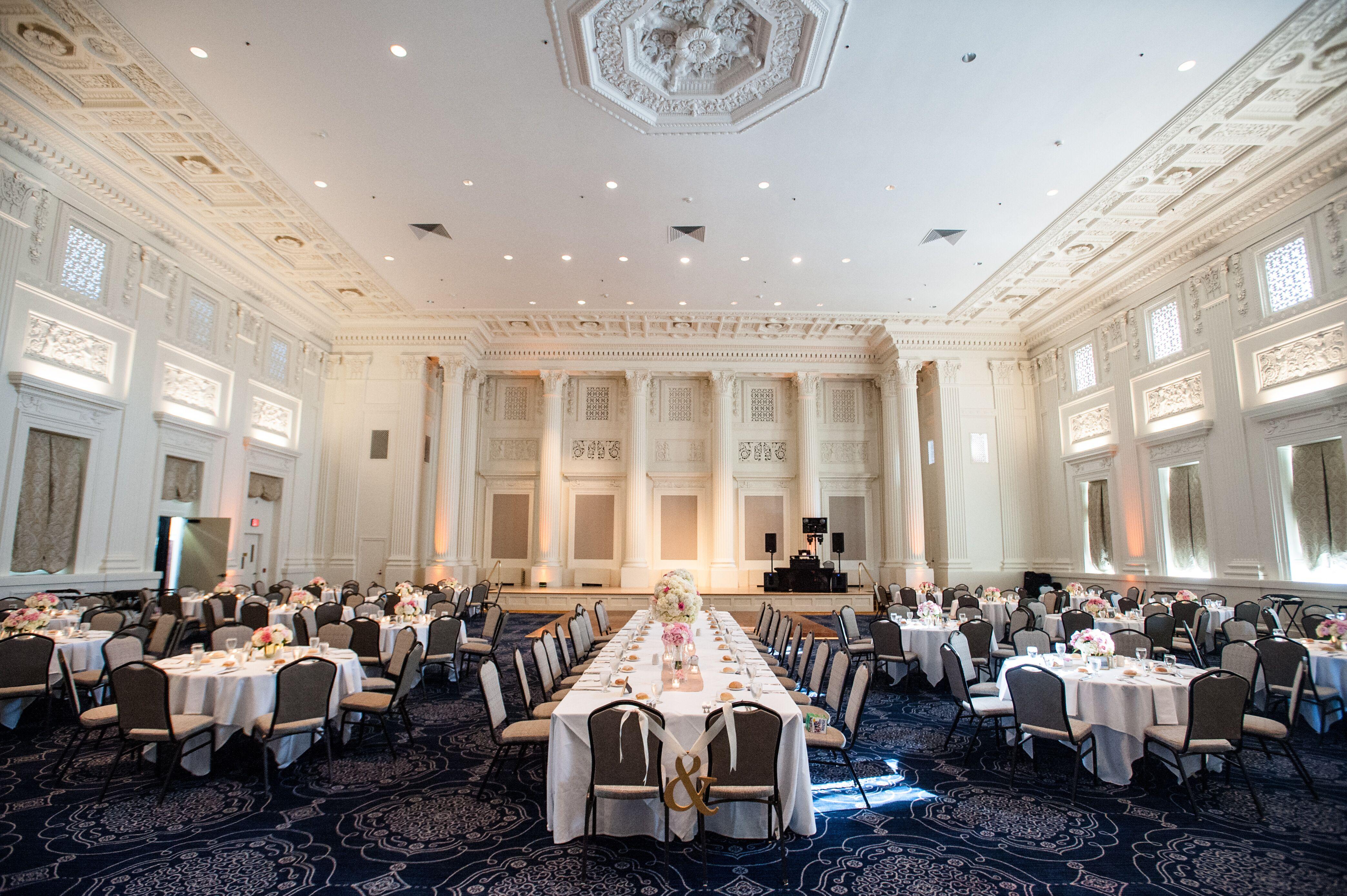 Governor 39 s ballroom reception space for 77 salon portland