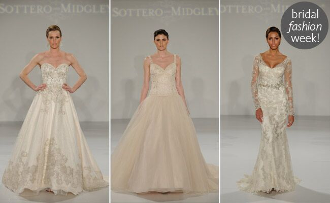 Sottero and Midgley Fall 2014 Wedding Dresses