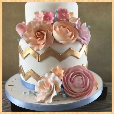 Cake Art Mo : Wedding Cakes + Desserts in Independence, MO - The Knot