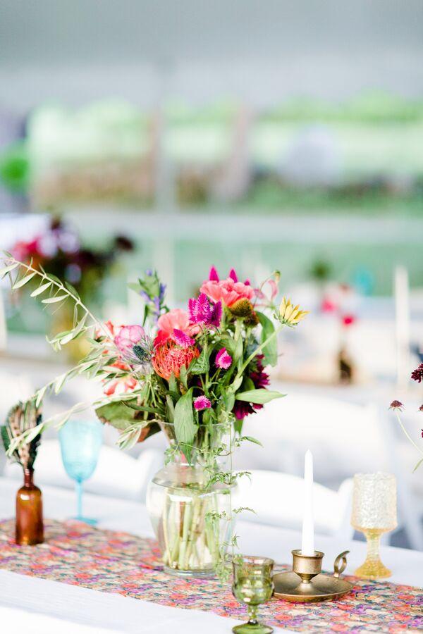 Wildflower Wedding Decorations Accents