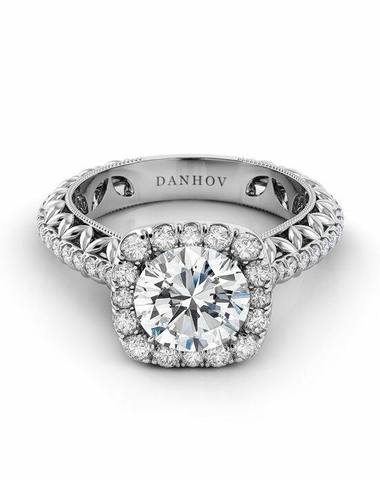 Danhov Petalo Leaf Engagement Ring photo