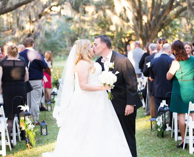 A Chic Neutral Colored Wedding At Litchfield Plantation In Pawleys Island South Carolina