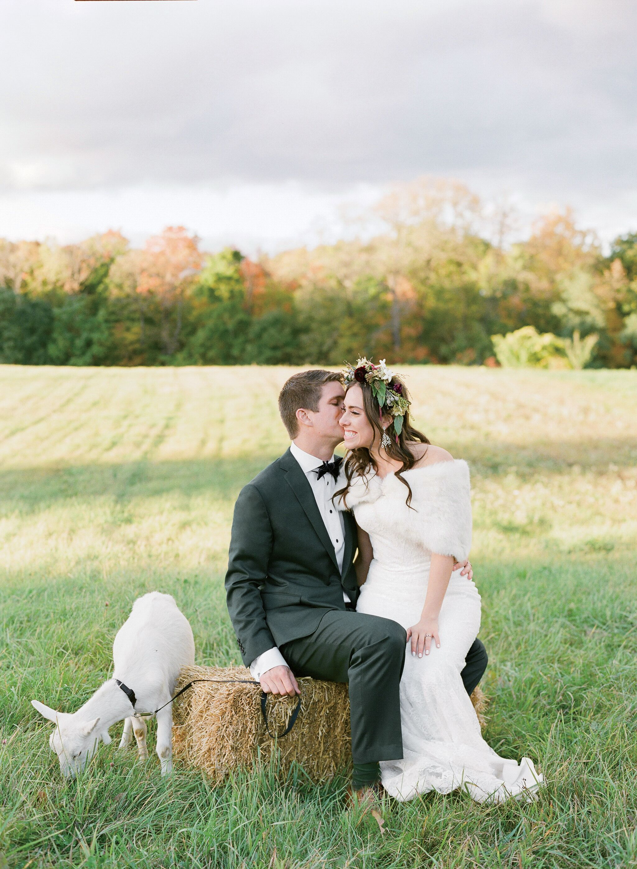 An Eclectic Wedding At Miller Nurseries In Canandaigua