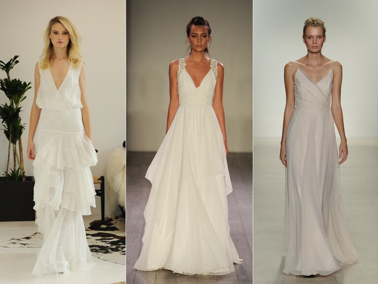 The Top Wedding Dress Trends From Fall Bridal Fashion Week