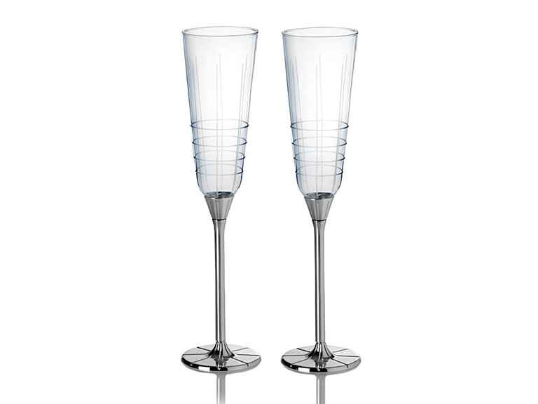 Mikasa champagne flutes engagement gift ideas