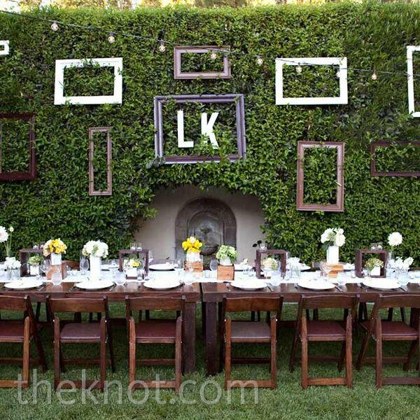 Casual Outdoor Wedding Reception Ideas: Pale Yellow Bridal Bouquet
