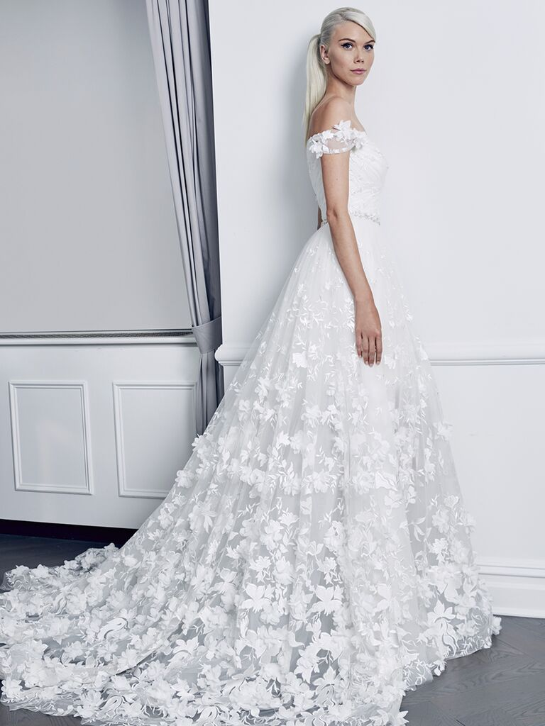 Wedding Dress With Fl Liques Gallery