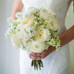 Fragrant Spring Bridal Bouquet