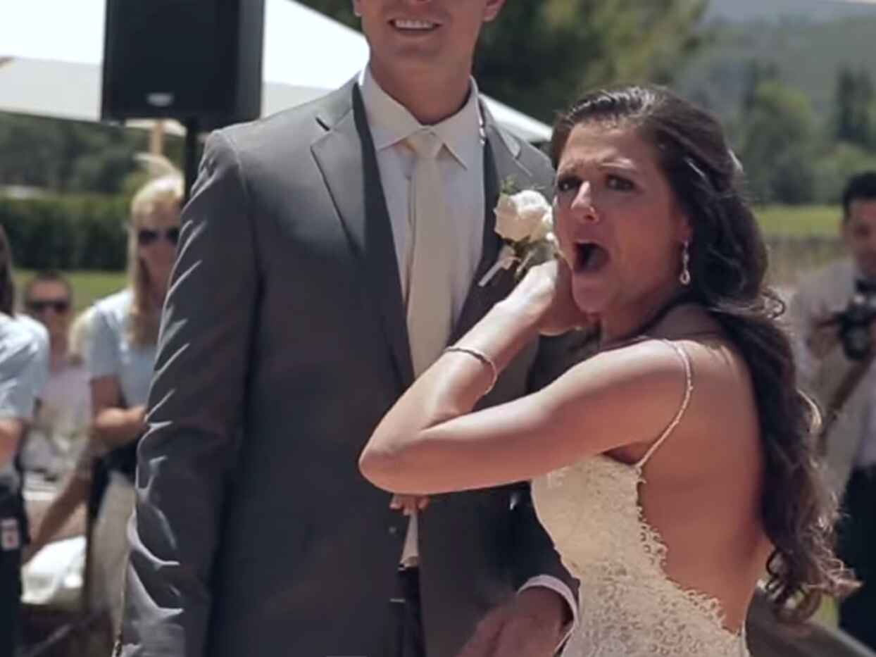 This Is What Happened When Canaan Smith Crashed The Knot Dream Wedding (Watch!)