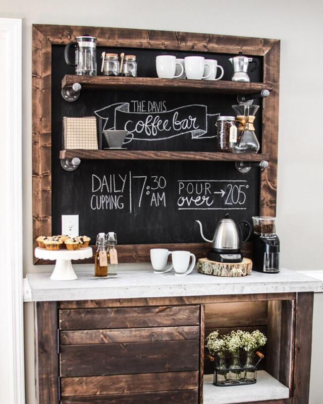 7 Charming Diy Coffee Stations For Your