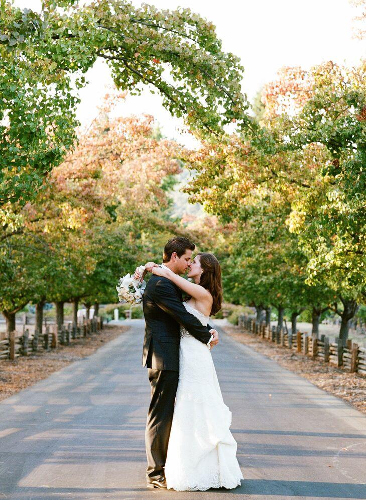 An Autumn Garden Wedding In Napa CA