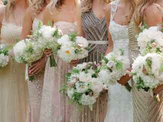 Winter wedding bridesmaid dress trends
