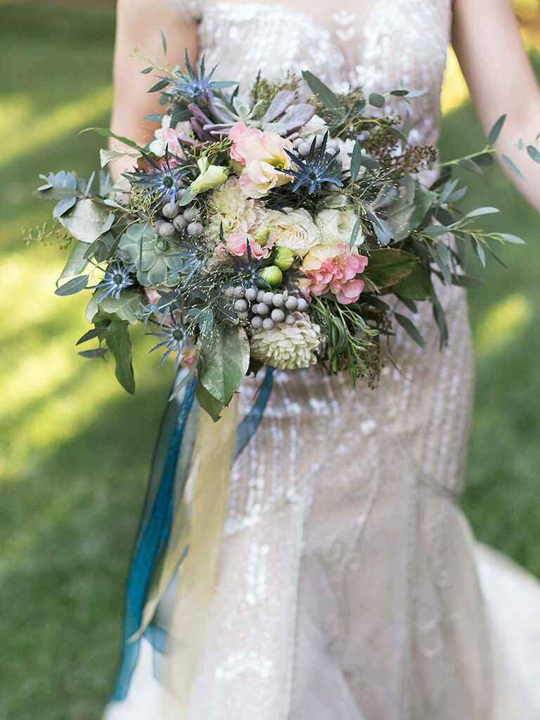 20 ideas for a unique wedding bouquet for Wedding flowers ideas pictures