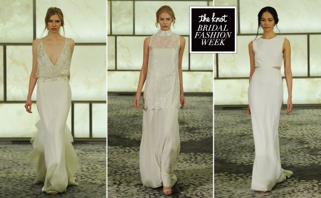Rivini Wedding Dresses Feature Daring Cutouts And See