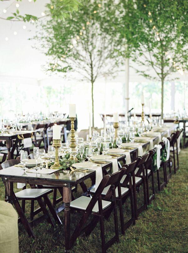 Natural Wedding Reception Wedding Decorations Accents