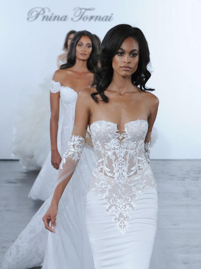 Pnina tornai fall 2018 collection bridal fashion week photos pnina tornai fall 2018 wedding dresses junglespirit Gallery