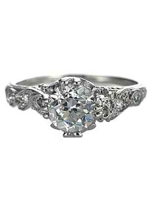 Leigh Jay Nacht engagement ring