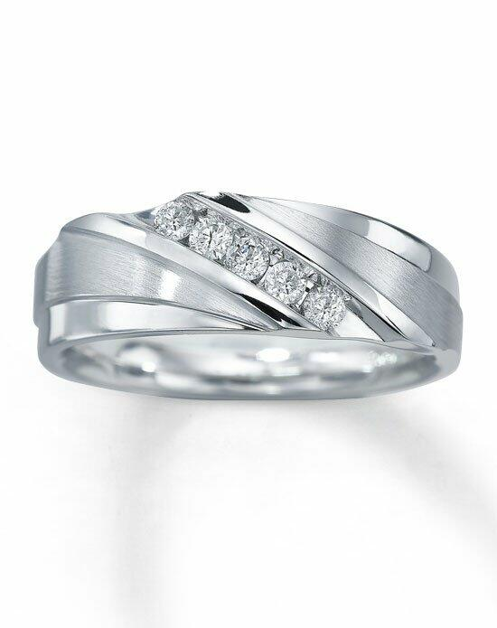 Kay Jewelers 10kw 1/4ct men's diamond ring-51143903 Wedding Ring photo