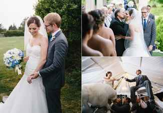 photo: Steve DePino / Featured: The Knot blog