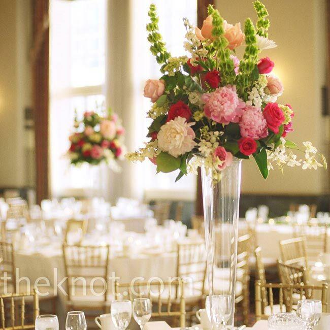 Pink and green centerpieces - Monoprix art de la table ...