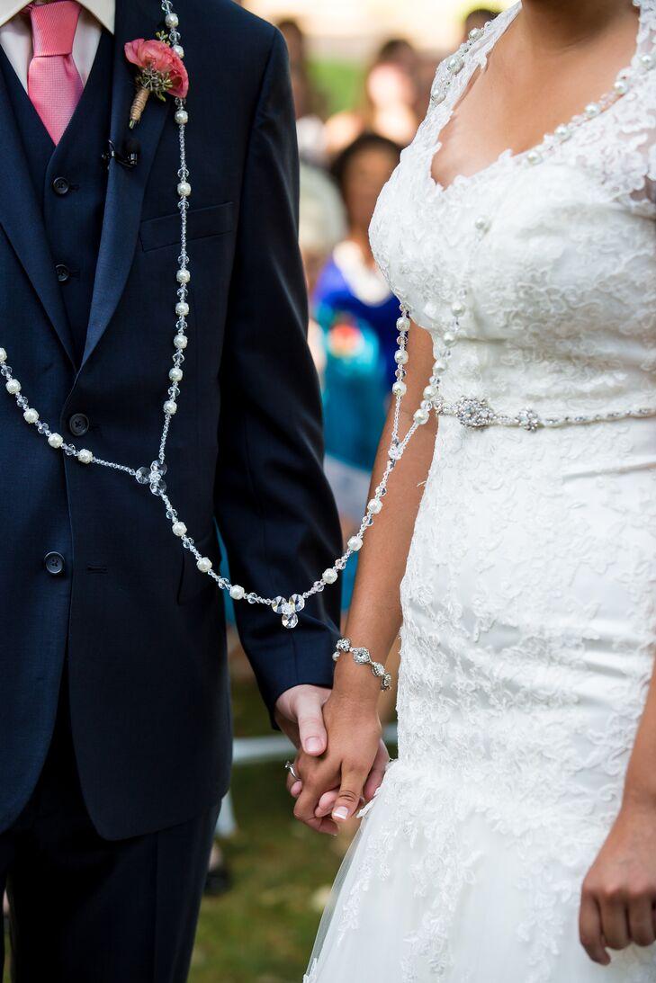 traditional ceremony wedding lasso rosary