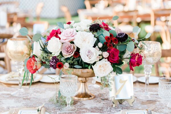 Vintage Wedding Centerpieces