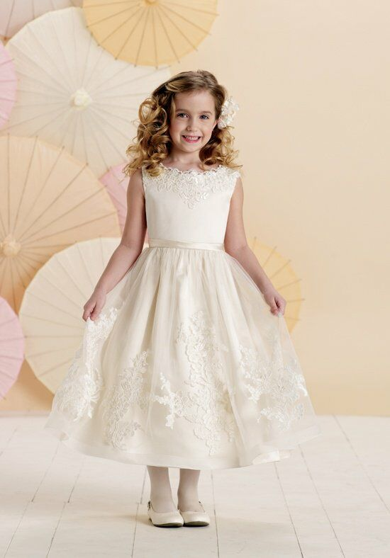 Joan Calabrese by Mon Cheri 214378 Flower Girl Dress photo