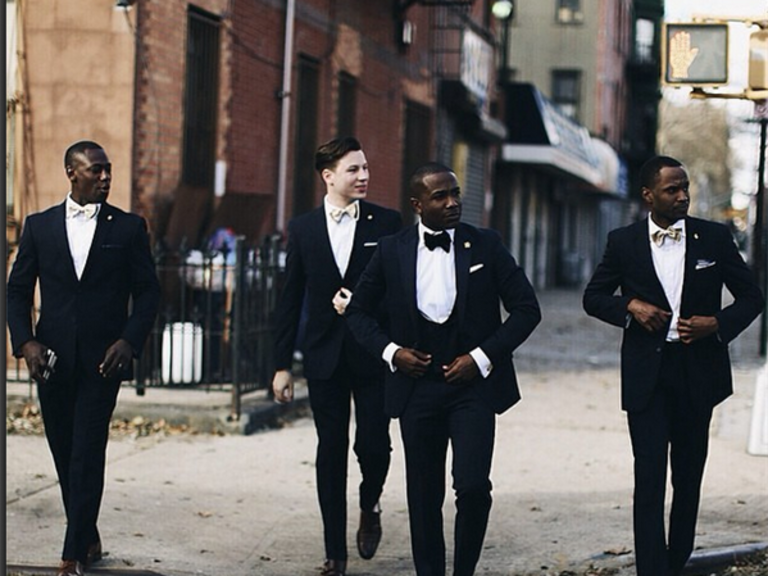 Wedding Menswear in NYC