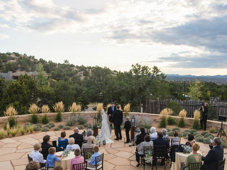 The Club At Las Campanas New Mexico Wedding Venue