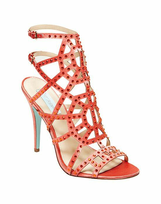 Blue by Betsey Johnson SB-Carat- Coral Wedding Shoes photo