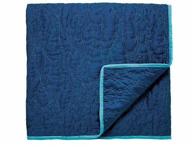 clover stripe bedspread