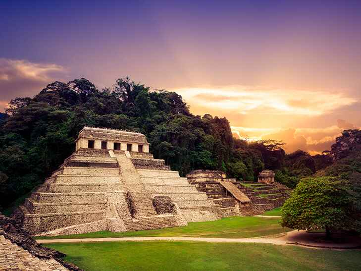 Palenque archaeological park