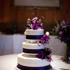 Calla Lily Wedding Cakes - Wedding Cake With Lilies