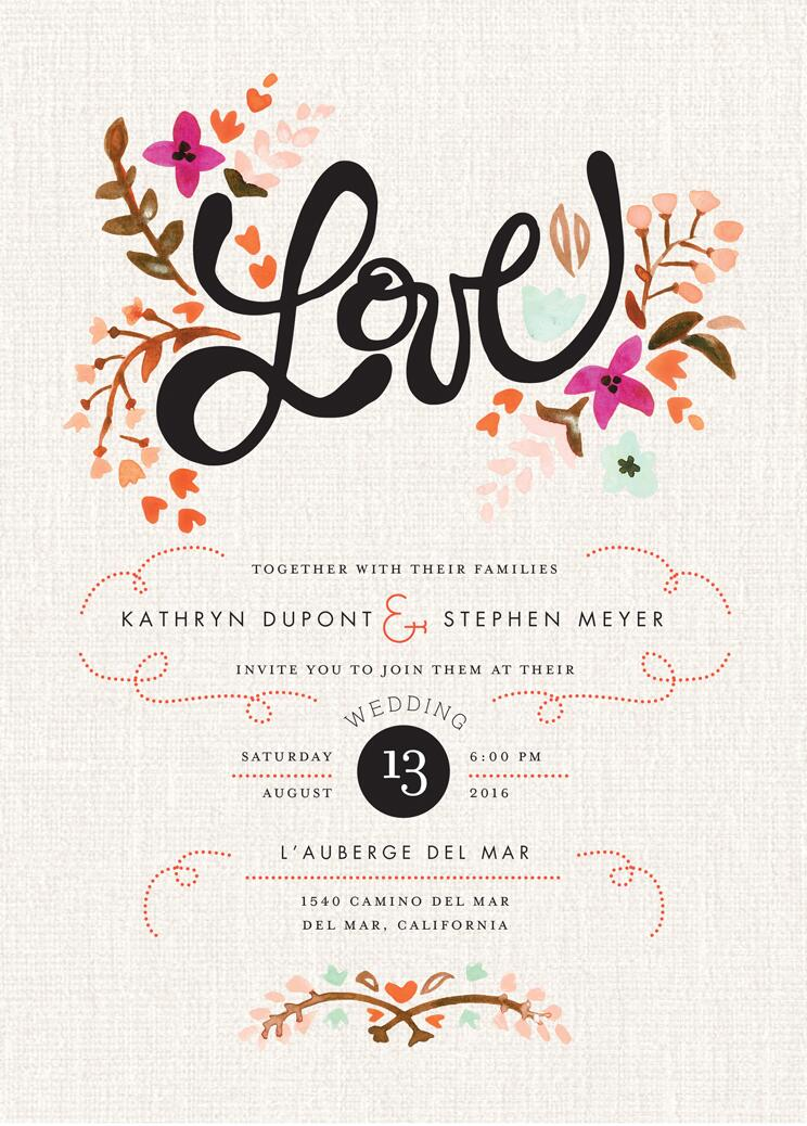 Affordable Wedding Invites for great invitation template