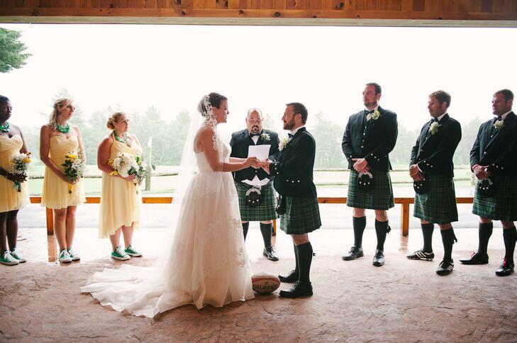 Traditional Irish Wedding Ceremony At Lake Placid