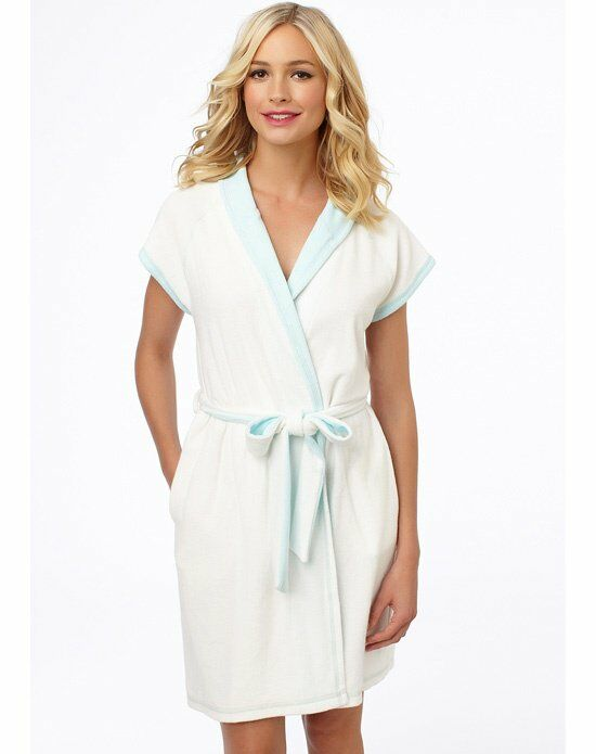 Blue by Betsey Johnson Baby Terry Bridal Robe Wedding Accessory photo