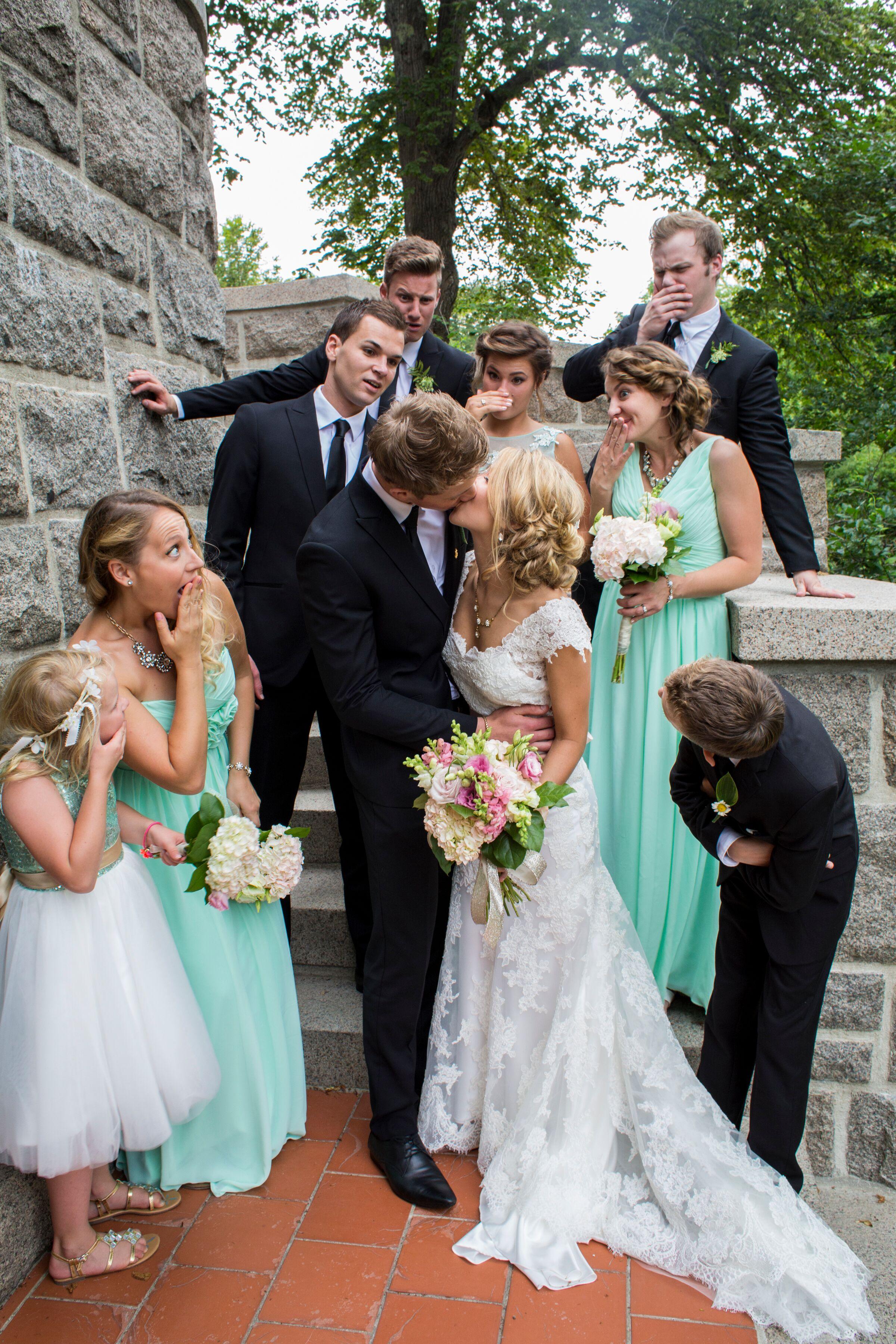 Mint Green Wedding Party
