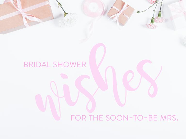 Wedding Shower Invitation Sayings