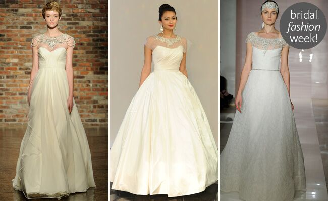 Top Wedding Dress Trends from Bridal Fashion Week