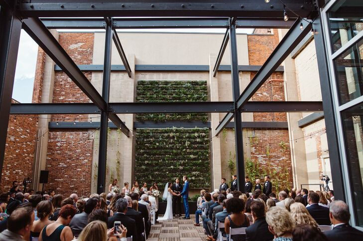Open-Air Loft Wedding at Excelsior