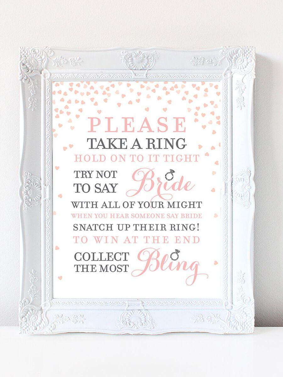 Printable Bridal Shower Games To DIY - Bridal shower game templates