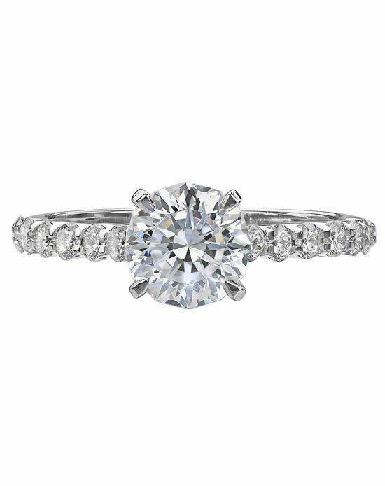 Christopher Designs F523RE-12-040 Engagement Ring photo