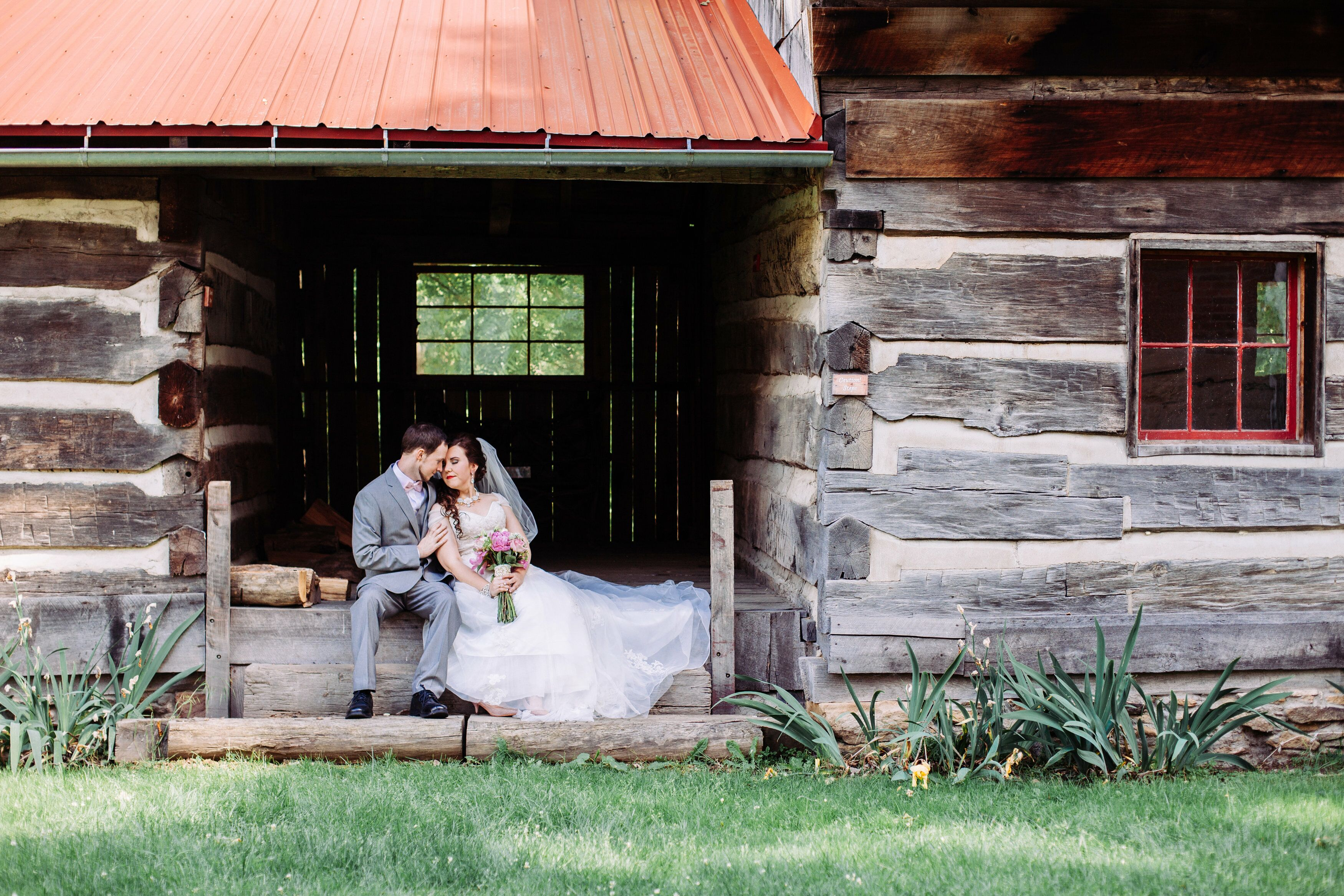 A Whimsical Barn Wedding at Greene County Historical Museum in Waynesburg, Pennsylvania