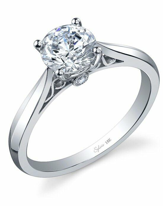 Sylvie Collection SY904 Engagement Ring photo