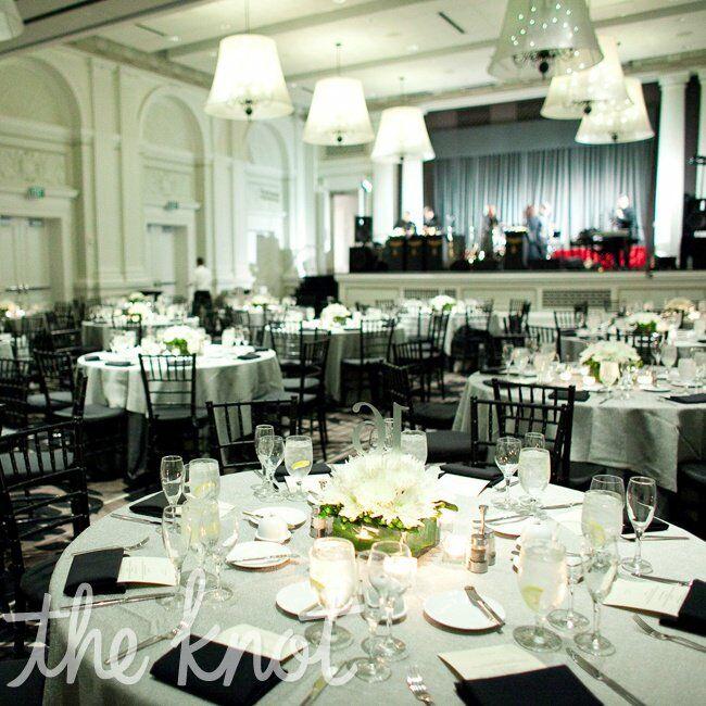 Le meridien philadelphia reception - Deco salle noir et blanc ...