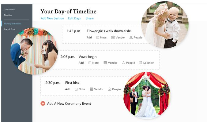 Your Wedding Day Timeline - Wedding Planning Timeline - The Knot
