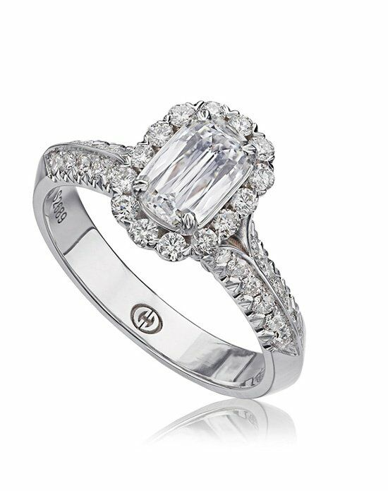 L'Amour Crisscut L100-075 Engagement Ring photo