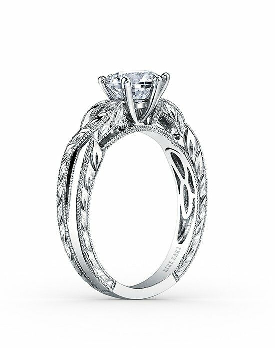 Kirk Kara Pirouetta Collection K1220DC-R Engagement Ring photo